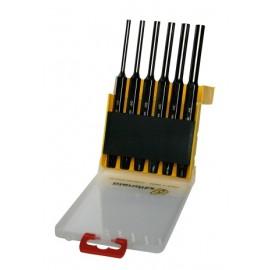 Botador Cilindrico 2-3-4-5-6-7Mm C.V. Niquel Bianditz 6 Pz