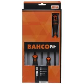 Destornillador Plano/Recta/Phillips Bahcofit Bahco 6 Pz