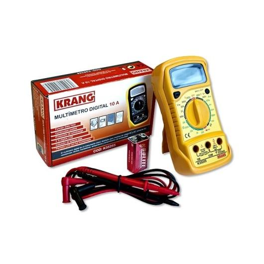 Multimetro Electricista Digital 10Amp  Hepoluz