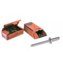 Remache Fijacion 4,8X21Mm Cabeza Ancha Aluminio C14 Bralo 200 Pz