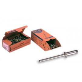 Remache Fijacion Estandar 6X10Mm Aluminio Bralo 250 Pz