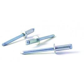 Remache Fijacion Estandar 5X10Mm Aluminio Bralo 500 Pz