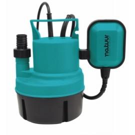 Bomba Agua Sumerguible 0250W-4500L/H Limpias 6Mt Natuur 1 Pz