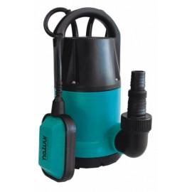 Bomba Agua Sumerguible 0350W-6500L/H Limpias 7Mt Natuur 1 Pz