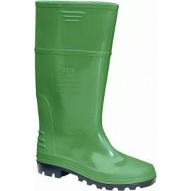 Bota Agua T45 Alta Bicolor Verdesubio Pvc Verde/Negro  P'Agua