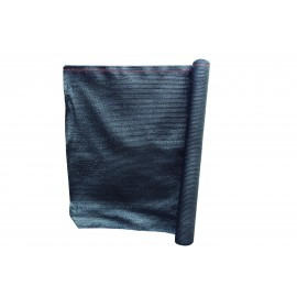 Malla Sombreadora 2X5Mt  Polietileno Negro