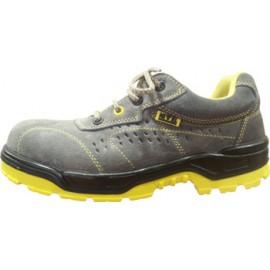 Zapato Seguridad T41 S1P Puntera Plastico No Metal Turpine Piel Gr Nivel