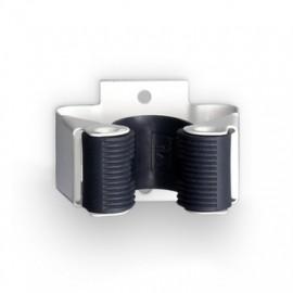 Colgador Escoba 34X52X42Mm Adhesivo Abrazadera Antideslizante Acero Blanco 2055-2+ Inofix