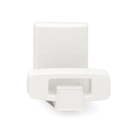 Colgador Hogar 61X45X45Mm Adhesivo Plastico Blanco 2060-2+ Inofix