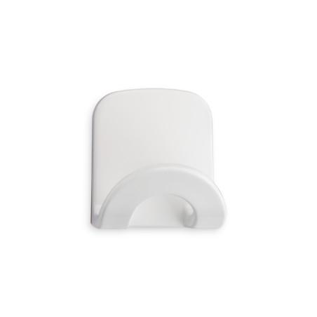 Colgador Hogar 68X60X53Mm Adhesivo Arco Plastico Blanco 2086-2+ Inofix