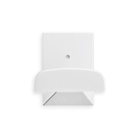 Colgador Hogar 52X40X35Mm Adhesivo plastico Blanco 2044-2+ Inofix