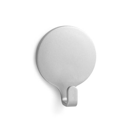 Colgador Hogar 53X42X17Mm Adhesivo Circular Plastico Cromo/Mate 2170-7+ Inofix