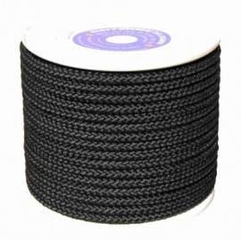 Cuerda Trenzada  10Mm Nylon Neg Mate Hyc 100 Mt