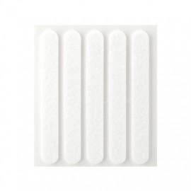 Fieltro Proteccion 95X12Mm Adhesivo Alargado Sintetico Blanco Inofix
