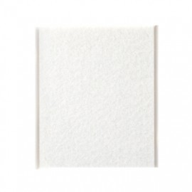Fieltro Proteccion 100X85Mm Adhesivo Cuadrado Sintetico Bl Inofix
