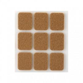 Fieltro Proteccion 29X23Mm Adhesivo Rectangular Sintetico Marr Inofix