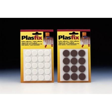 Fieltro Proteccion Ø 22Mm Adhesivo Redondo Sintetico Blanco Inofix