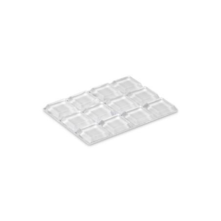 Tope Proteccion Golpes 13X13X3Mm Adhesivo Antidesl Tra Gota Inofix