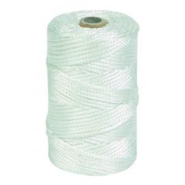 Hilo Atirantar 01Mm Nylon Blanco Trenzado 8840 Hyc 200 Mt