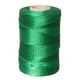 Hilo Atirantar 02Mm Nylon Verde Trenzado 8842 Hyc 100 Mt