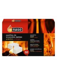 Pastilla Encendido Barbacoa Ok Fuego 32 Pz