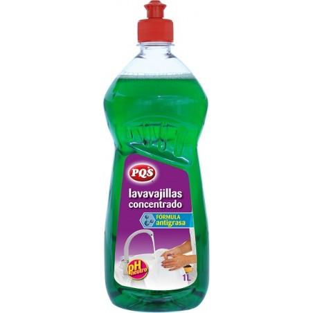 Lavavajillas Liquido Concentrado Pqs 1 Lt